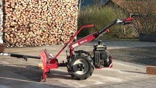 getlinkyoutube.com-Einachser Köppl umrüsten von schneeräumen auf Anhänger in Echtzeit, Two-wheel Tractor