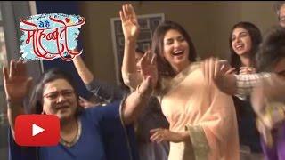 getlinkyoutube.com-Divyanka Tripathi's CRAZY Dance On Completion Of 1000 Episodes | VIDEO