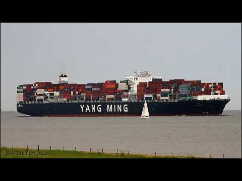 Click to view video YM WORTH - IMO 9704635 - Germany - River Elbe - Otterndorf