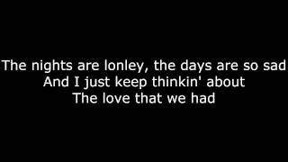 Nobody Knows   Tony Rich Project   Lyrics On Screen [HD]