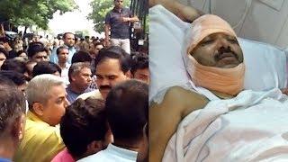 सतपाल महाराज के समर्थकों द्वारा हरिद्वार नगर निगम के मेयर की पिटाई, पुलिस पर भी पथराव