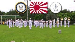 getlinkyoutube.com-GUNKAN March 軍艦マーチ - 日米海軍軍楽隊