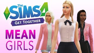 getlinkyoutube.com-The Sims 4 Get Together Game Play — Mean Girls