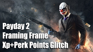 PAYDAY 2:BIG SCORE XP AND PERK POINTS GLITCH PS4/XBOX ONE