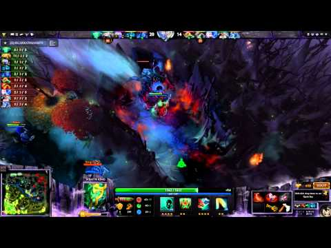 Dota 2 Gameplay  - Lets play Wraith King (#1) (HD)(Ranked)