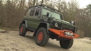 "getlinkyoutube.com-Mercedes G-Klasse - Offroad Sonderanfertigung ""Bull"" Jagd-Fahrzeug"