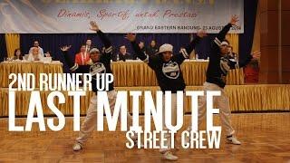 getlinkyoutube.com-NATIONAL DANCE CHAMPIONSHIP (HIP HOP)   2nd Runner Up   LAST MINUTE STREET CREW