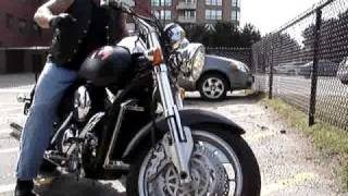 getlinkyoutube.com-2003 Kawasaki Meanstreak... Uncle D Style!!!