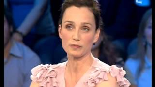 getlinkyoutube.com-Kristin Scott Thomas - On n'est pas couché 15 mars 2008 #ONPC