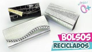 getlinkyoutube.com-RECICLAJE✔ Bolso DE MANO para Fiesta   ★Así o más fácil★
