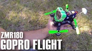 getlinkyoutube.com-ZMR 180 Carbon FPV GoPro Flight & Crash - Naze32 Failure