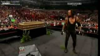 getlinkyoutube.com-WWE Raw 03/30/09 Shawn Michaels Funeral For The Undertaker
