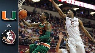 getlinkyoutube.com-Miami vs. Florida State Basketball Highlights (2015-16)
