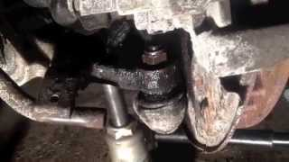 getlinkyoutube.com-Mercedes W210 Front CV Axle And Ball Joint Replacement- 2000 E320 4Matic-Part 1 of 2