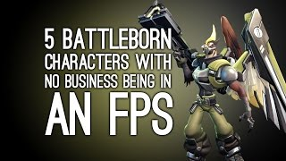 5 Battleborn Characters Who Have No Business in a First Person Shooter