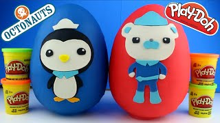 getlinkyoutube.com-GIANT Octonauts Play Doh Surprise Egg - Octonauts Toys, Disney Dory, Superheroes Surprise Toys