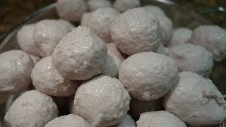 getlinkyoutube.com-Thai Pork MeatBalls ลูกชิ้นหมู