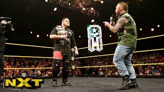 getlinkyoutube.com-Eric Young interrupts Samoa Joe:  WWE NXT, May 4, 2016