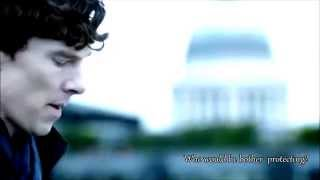 getlinkyoutube.com-Who would he bother protecting? Sherlock/John
