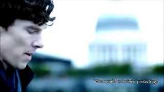 Who would he bother protecting? Sherlock/John