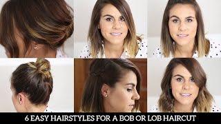 getlinkyoutube.com-6 Easy Hairstyles for a Bob or Lob Haircut