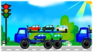 getlinkyoutube.com-Мультфільми про машинки 🚚 українською мовою всі серії підряд 🚜 З любов'ю до дітей