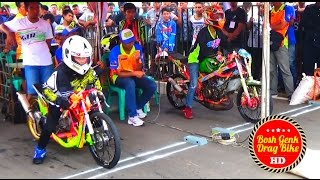 getlinkyoutube.com-Moment Langka DAFA DELLA Jejer Bareng RULLY PM | Duel Drag Bike {TERBARU}