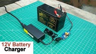 How to Make a 12 Volt Battery Charger width=