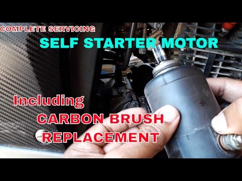 Starter motor Repair/Servicing.