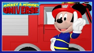 getlinkyoutube.com-Mickey & Minnie's Universe - Mickey Mouse Clubhouse Fire Truck Game - Disney Junior Games For Kids