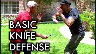 How to Defend Against a Knife Attack with Nick Drossos