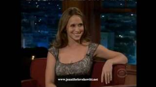 Jennifer Love Hewitt at the Late Late Show with Craig Ferguson 10/01/08