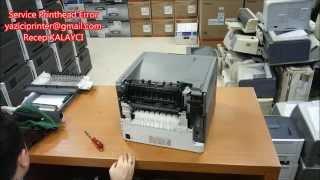 getlinkyoutube.com-Service Printhead Error (Lexmark T650n Service Printhead Error Onarımı - VIDEO)