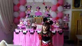 getlinkyoutube.com-Niver Ju 5 anos , tema da Minnie Mouse
