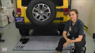 "getlinkyoutube.com-Jeep Wrangler '07-'15 Tow Hitch and Trailer Wiring Install - ""NeWere4x4"""