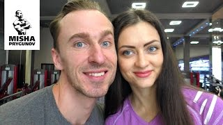 getlinkyoutube.com-Оля Прыгунова жена Миши Прыгунова!
