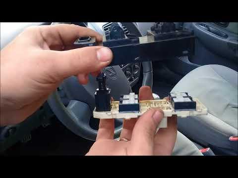 Не работает кнопка стеклоподъемника Hyundai Accent