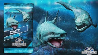 getlinkyoutube.com-Jurassic World The Game: Unlocked Kronosaurus - The Underwater Battle