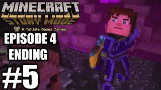 getlinkyoutube.com-Minecraft: Story Mode Episode 4 - Ending Gameplay Walkthrough Part 5 - No Commentary [ HD ]