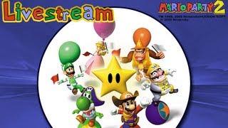 getlinkyoutube.com-Mario Party 2 Live Stream - (Recorded 06/07/2012)