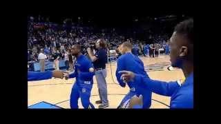 Stephen Curry vs LeBron James Dance Battle