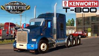 getlinkyoutube.com-American Truck Simulator KENWORTH T800 2016