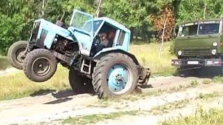 getlinkyoutube.com-Как трактор Камаз вытаскивал