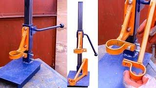 getlinkyoutube.com-Самодельная стойка для дрели своими руками.Часть1.Homemade drill press