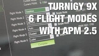 getlinkyoutube.com-Turnigy 9X Stock Firmware 6 Position Switch for 6 Flight Modes with APM 2.5 and Mission Planner