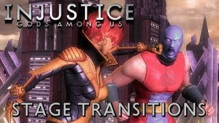 getlinkyoutube.com-Injustice: Gods Among Us - All Stage Transitions [1080p] TRUE-HD QUALITY