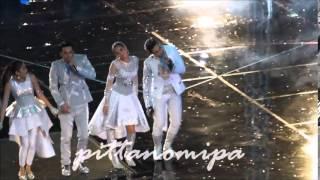 getlinkyoutube.com-Nadech-Yaya /เต้นชักกระตุกคอนเสิร์ท&ธรรมเนียมคู่จิ้น @ความสุขบุกโลกงานฟุตบอลช่อง3ครบรอบ45ปี