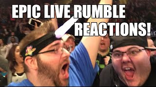 getlinkyoutube.com-EPIC LIVE REACTIONS to 2016 WWE ROYAL RUMBLE! Triple H Wins! AJ Styles Debuts!