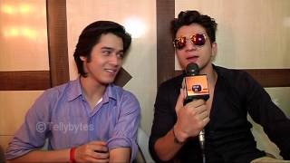 getlinkyoutube.com-Anshuman and Ashwini aka Uttkarsh and Sid of Warrior High in a candid conversation with Tellybytes