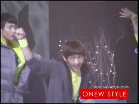 Fancam 081205 SHINee Onew MUSIC BANK[ONEW STYLE]